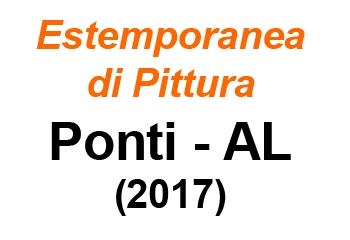Estemporanea a PONTI (AL) 2017