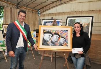 DEBORAH ALCARAS premiata dal sindaco di Quargnento